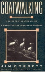 "Book cover for ""Goatwalking"" by Jim Corbett"