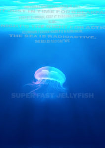 Superfast jellyfish poster example